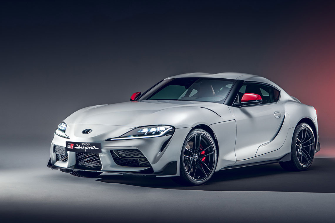 Performance chip tuning for Toyota Supra gr